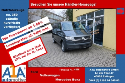 VW T6 Transporter 2.0 TDI T6.1, 4MOTION 3000 mm *Kli*Rd*GuBo*
