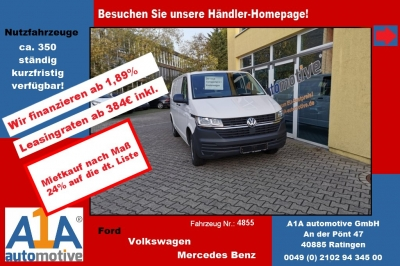VW T6 Transporter 2.0 TDI T6.1, 4MOTION 3400 mm *Kli*Rd*GuBo*