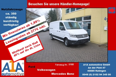 VW CRAFTER 30 Kasten 3640mm !elAu*Rrad*DoSi*BT!