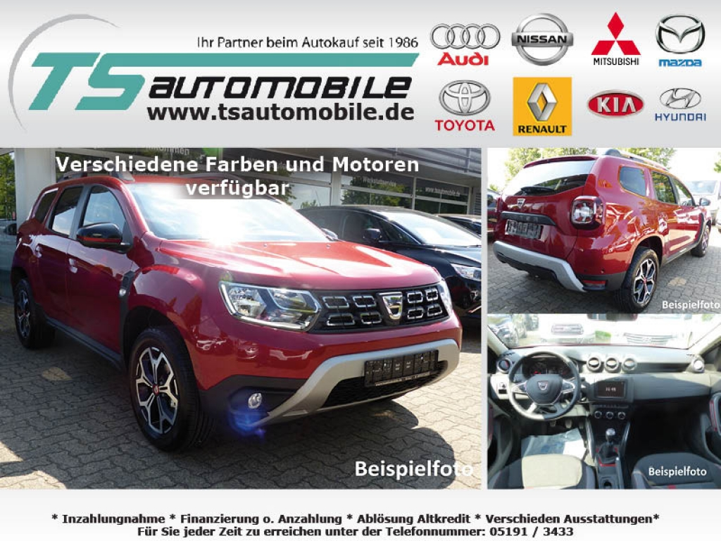 Dacia Duster TCe100 LPG s&s Blueline Navi M.view/Cam shzg alu17 Privacy Klimaauto Reling T.omat Nsw